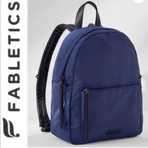 NWT- Fabletics Everyday Backpack - Navy Blue